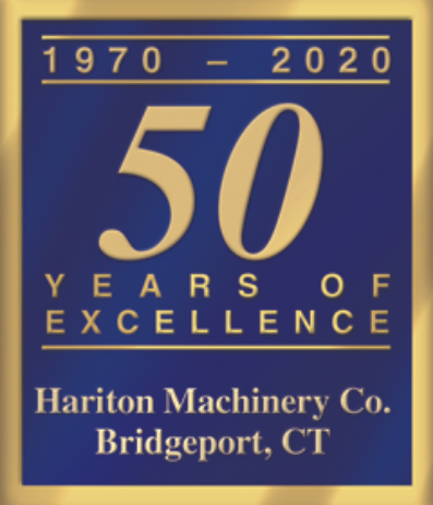 50 years of excellence Hariton Machinery Company